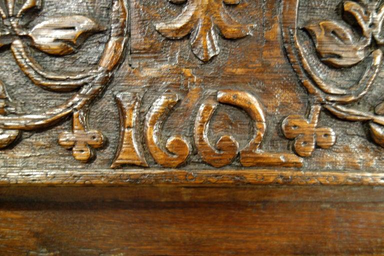 17th Century Renaissance Style Italian Chestnut Leggio Music Desk Lectern Table For Sale 1