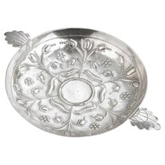 17th Century Silver Sweatmeat Dish