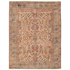 17th Century Small Size Persian Khorassan Rug