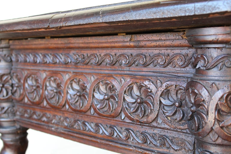 17th Century Spanish Library Table For Sale 3