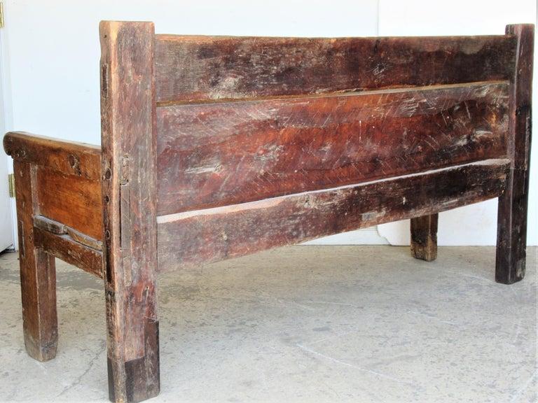 17th Century Spanish Bench at 1stDibs