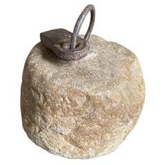 17th Century Spanish Stone Counter Weight
