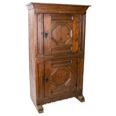 17th Century Spanish Two-Door Cabinet