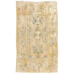 17th Century Spanish Wool Rug, Cuenca Renaissance of Arabesques