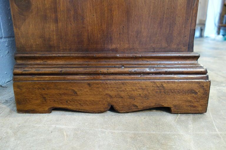 17th Century Style Italian Classic Old Walnut Credenza, Custom Cabinet Line For Sale 12
