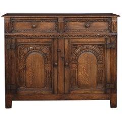 17th Century Style Oak Cupboard