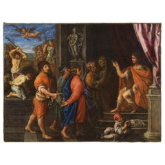 17th Century, The Martyrdom of the Four Crowned Saints by Giuliano Dinarelli