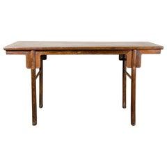 17th Century Tie Li Wood Painting Table