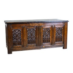 17th Century Tudor Oak Chest