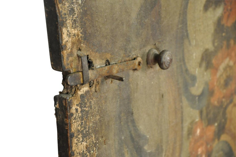 17th Century Venetian Double Sided Oil Painting Door For Sale 1