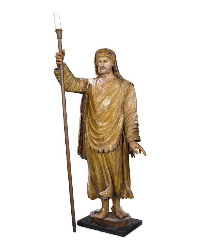 Italian 17th Century Venetian Figural Torchères For Sale