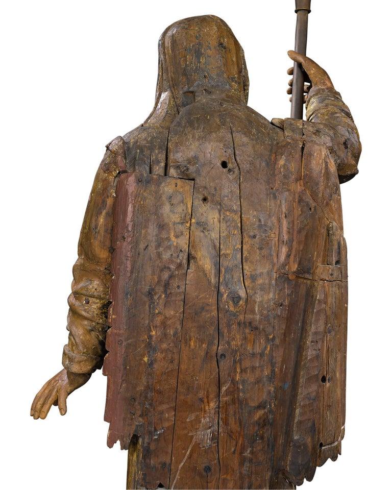 17th Century Venetian Figural Torchères For Sale 1