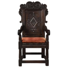 17th Century Wainscot Chair
