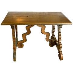 17th Century Walnut Table from Umbria, Italy