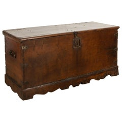17th Century Walnut Trunk