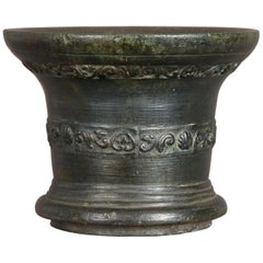 17th Century Whitechapel Bronze Mortar, London, 1630-1650