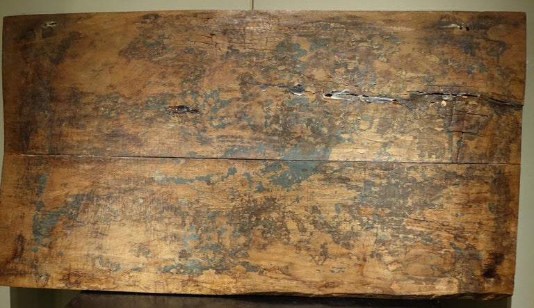 17th Century Wood Panel Sculpture Carved in Low Relief, Italy or France For Sale 3