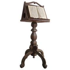 17th Century French Oak Lecturn