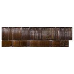 18th-19th Century Linen Fold Oak Room Panelling