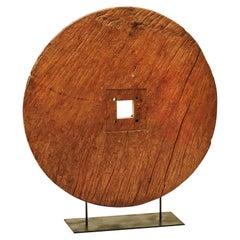 18th-19th Century Sculptural Cart Wheel