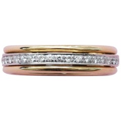 18 Carat Gold Eternity Ring with Diamonds