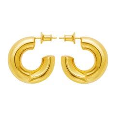 18 Carat Gold Gamma Earring