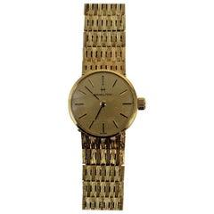 18 Carat Gold Ladies Hamilton Watch