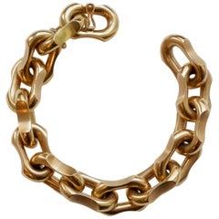 18 Carat Gold Link Bracelet