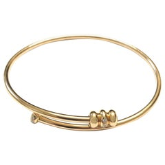 18 Carat Rose Gold Bangle Bracelet