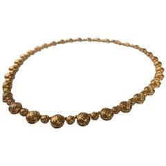 18 Carat Rose Gold Necklace