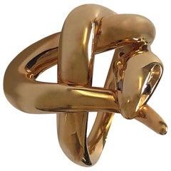 18 Carat Rose Gold Ring