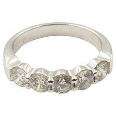 18 Carat White Gold 5 High Level Diamond Eternity Ring