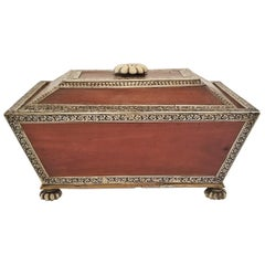 18 Century Anglo-Indian Vizagapatam Casket