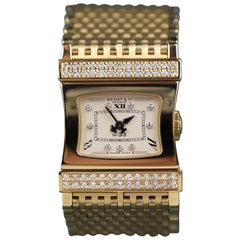 "18 Karat Bedat & Co. ""No. 33"" Swiss Diamond Wristwatch"