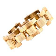 18 Karat Big Links Bracelet