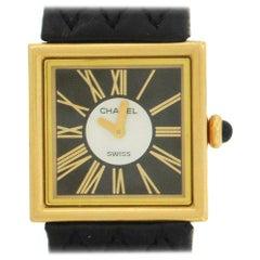 18 Karat Chanel Mademoiselle Wristwatch