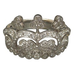18 Karat Diamond Tiara Ring