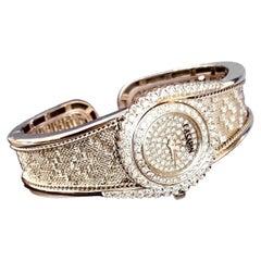 18 Karat Gold and Diamonds Wristwatch