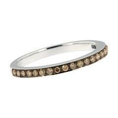 18 Karat Gold and Fancy Brown Diamond Ring