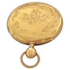 18 Karat Gold Antique Quarter Repeater Pocket Watch