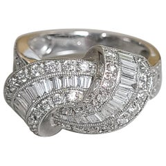 18 Karat Gold Art Deco Diamond Ring