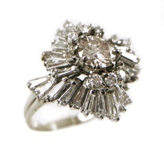 Ballerina Cocktail Diamond Ring