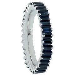 Blue Sapphire 18 Karat Gold Ring