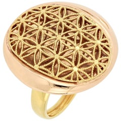 18 Karat Gold Cocktail Ring