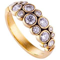 Alex Sepkus Yellow Gold Diamond Ring