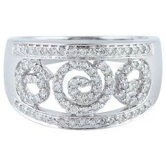 18 Karat Gold Diamond Engagement Ring