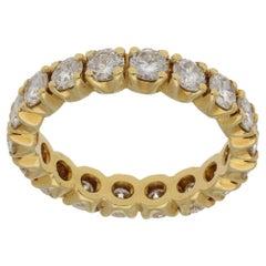 18 Karat Gold Diamond Eternity Ring