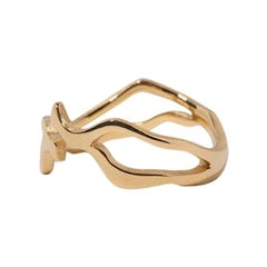 Milamore Fine Jewelry 18 Karat Gold Kintsugi Ring II