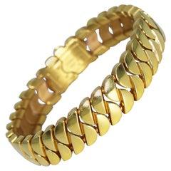 18 Karat Gold Link 'La Dona' Bracelet, Cartier