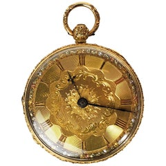 18 Karat Gold Maidstone Watch by Joseph Barling, 19th Century